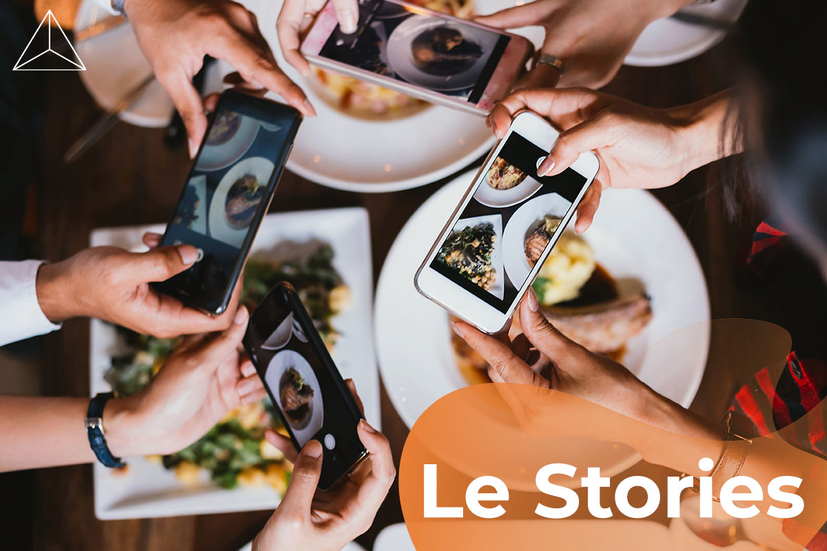 le stories sui social network